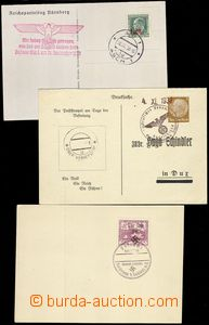 68803 - 1938 6 pcs of philatelic cards, provisional propagandistic p