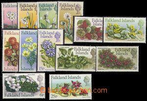 68872 - 1972 Mi.205-217, complete set, Flowers, c.v.. 50€