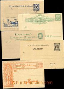 68876 - 1886-1900 sestava 10ks soukromých dopisnic, z toho 3x proš