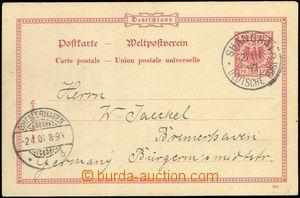 68894 - 1899 předběžná celina 10Pf Orlice se soukromým přítis