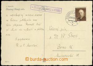 68944 - 1948 pohlednice s razítkem poštovny KULÍŘOV (Studnice u