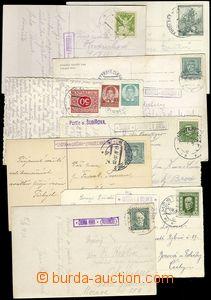 68951 - 1923-36 sestava 8ks pohlednic s razítky poštoven : MACOCHA