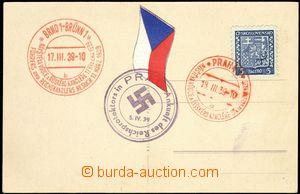 68988 - 1939 pohlednice s foto AH se třemi různými PR, Pof.PR4, P
