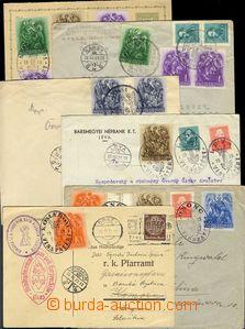 69040 - 1938 comp. 12 pcs of entires, commemorative postmarks VISSZA