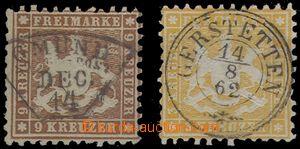 69071 - 1862 Mi.22, 28, kat. 105€