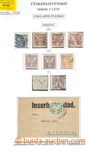 69188 - 1936 comp. 10 pcs of newspaper stmp issue Falcon in Flight (