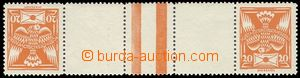 69235 -  Pof.148TBb, opposite facing pair, wide, mint never hinged,