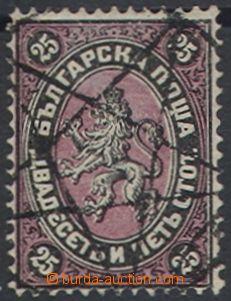 69274 - 1881 Mi.10 Znak se lvem, hvězdové razítko, dobře zachova