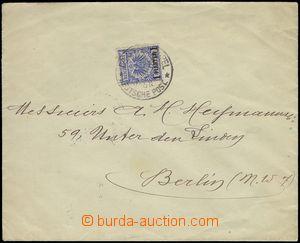 69480 - 1895 dopis vyfr. zn. Mi.8, DR Constantinopel 14/5 95, vzadu