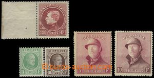 69685 - 1919-29 comp. 5 pcs of  better stamps, Mi.157-8, 216-7, 265/