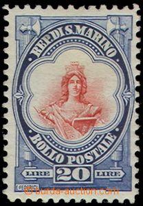 69710 - 1929 Mi.162 Národní symboly, koncová hodnota, stopa po n�