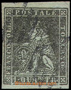 70174 - 1853 Mi.1y, c.v.. 1500€, wide margins