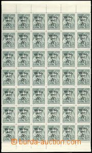 70206 - 1938 RUMBURK, Mi.49, 42 pcs of block with upper and bottom m