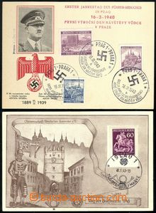 70231 / 1796 - Philately / Other Philatelic Domains / Memorial Cancelled / Bohemia and Moravia