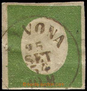 70454 - 1854 Mi.7, c.v.. 600€, nice postmark Savona/ 25/SET./54