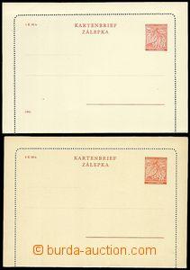 71350 - 1939 CZL1 + CZL3, Linden Leaves 1 Koruna and 1,20 Koruna, ni