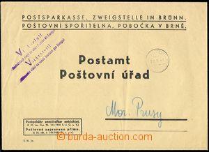 71393 - 1941 POSTAL SAVING BANK  more/larger pre-printed envelope po