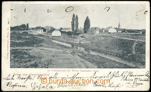 71430 - 1899 Guntramsdorf - general view from stream; long address,