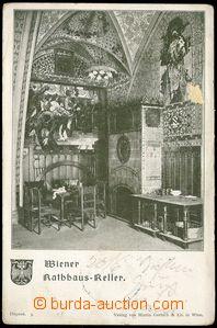 71440 - 1904 Wien - Rathaus-Keller, interiér; DA, prošlá, odřen�