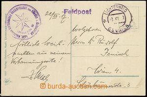 71703 - 1917 MALTESER RITTERORDEN GROSSPRIORAT von BÖHMEN u. ÖSTERRE