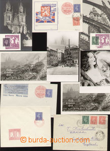 71833 - 1941-45 FIELD POST / Czechosl. FP IN ENGLAND  selection of 2