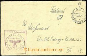 72074 - 1939 dopis německé polní pošty od příslušníka leteckého útva