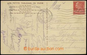 72086 - 1929 SPORTSMEN / FOOTBALL  postcard (Paris) with signatures
