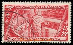 72132 - 1932 Mi.430 the 10th jubilee, highest value postage stmp., w