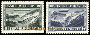 72217 - 1931 Mi.114-115, Zeppelin,  various gum stamps, No.115 very