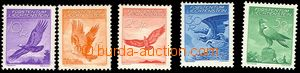 72218 - 1934 Mi.143-47, Airmail, good quality, c.v.. 220€