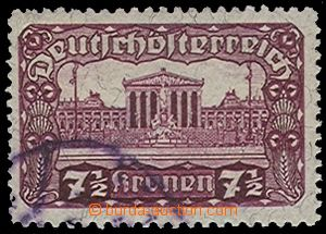 72316 - 1920 Mi.289C  postage stmp 7½K Parliament, line perfora