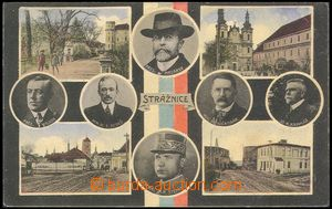 72346 - 1919 STRÁŽNICE - 4-view collage with kulatými portraits p