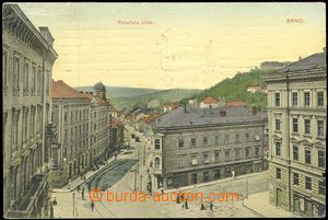 72367 - 1909 BRNO - Bakery street, color, used, stmp stripped, good