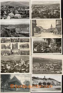 72370 - 1935-50 VALAŠSKÉ MEZIŘÍČÍ - comp. 10 pcs of photo post
