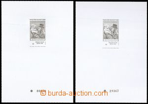 72378 - 2000 PT11a+b, Tradition of Stamp Production - Masaryk, cat.