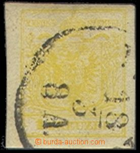 72438 - 1850 Mi.1Y, MP, type III., on reverse remainder background,