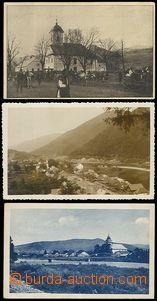 72456 - 1930-35 sestava 3ks, z toho Velký Bočkov a Usťčorna poš