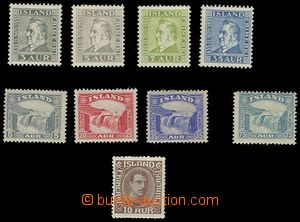 72513 - 1931-35 selection of clear stamps hinged Mi.183-186,150-152,