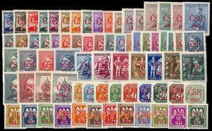 72629 - 1945 PROSTĚJOV  Czechoslovakia/ 1945, red Opt Prostějov, sel