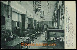 72630 - 1912 PRAHA - café NIZZA, Vinohradská třída, umělecký i