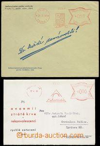 72815 - 1939-40 sestava 2ks firemních zásilka se sníženým výpl