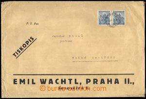 72851 - 1940 Maxa W3, dopis většího formátu s přítiskem firmy