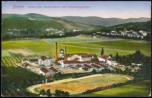 72861 - 1916 PISÁRKY - Bauerův sugar-factory; Us, bumped corners