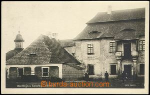 72879 - 1929 KARLSTEIN by/on/at Svratka - court, people; Us, good co