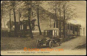72881 - 1925 CVILÍN u Krnova (Burgberg bei Jägerndorf) - restaurac