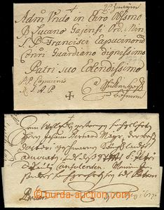 72884 - 1677-1771 comp. 2 pcs of church letters from Moravia (Brno a