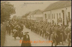 72893 - 1911 UHERSKÉ HRADIŠTĚ - procession Sokol, photo Horák; U
