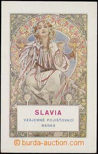 72898 - 1935? MUCHA Alfons (1860–1939), Slavia (Weill.126), on rev