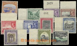 72919 - 1934 Mi.118-128, Buildings and country, complete set, outsid