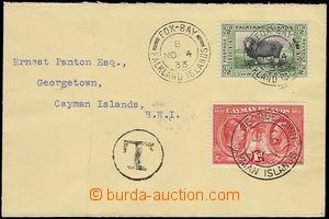 72925 - 1933 filatelisticky ovlivněný dopis vyfr. zn. ½d, DR FO